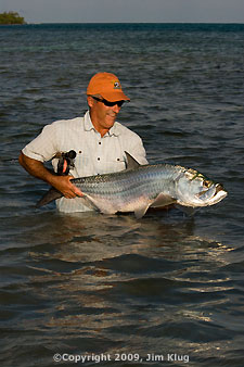 Tarpon on Flats